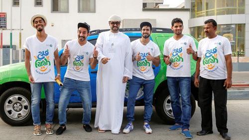 نفط عمان تختتم فعاليات حملة 'فرح' في بداية عام 2016