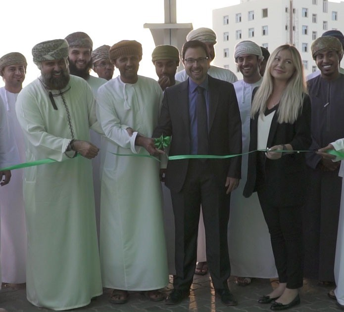 OMAN OIL MARKETING COMPANY INSTALLS ELECTRIC VEHICLE CHARGER  AT MAZOON STREET SERVICE STATION