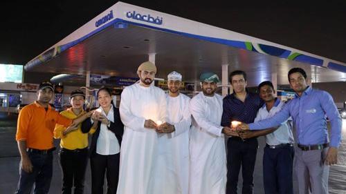 نفط عمان تطفئ الأنوار في مقرها الرئيسي ومحطة بوشر خلال ساعة الأرض